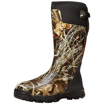 "LaCrosse Men's Alphaburly Pro 18"" Insulated Camo Boots 800 Grams, Realtree Max-5, 6D"