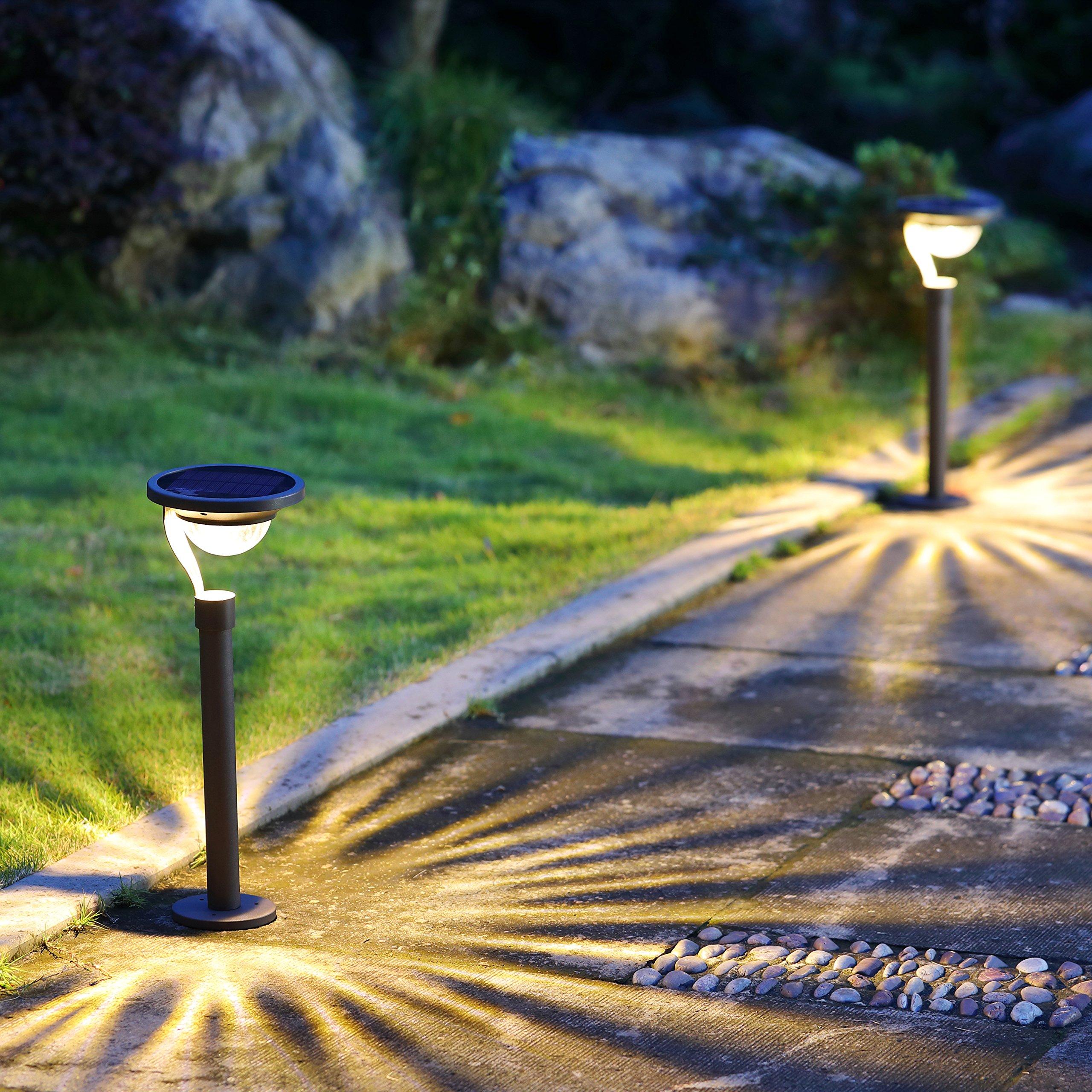 d pin modern path lights landscape light with contemporary desert