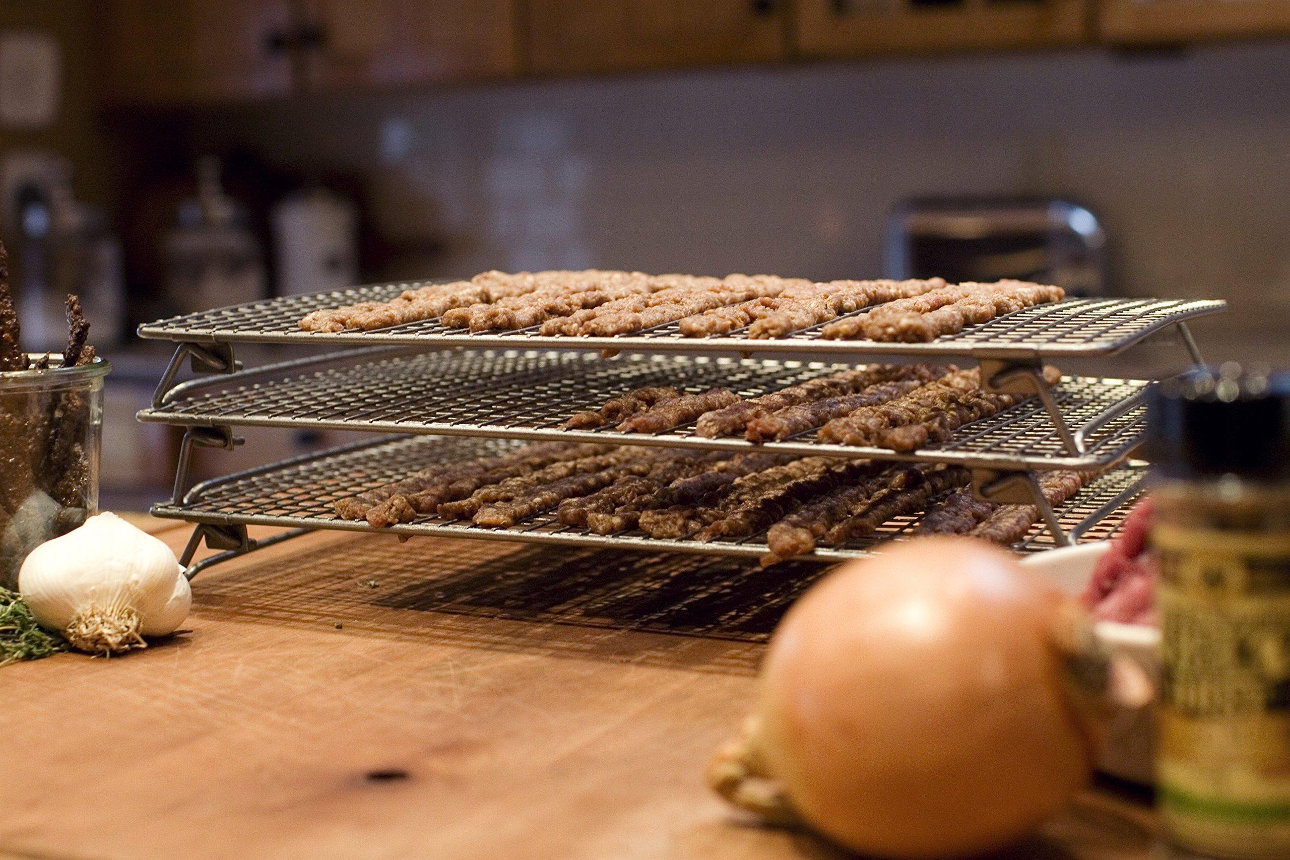 Weston Nonstick 3 Tier Drying Rack And Baking Pan 07 0155