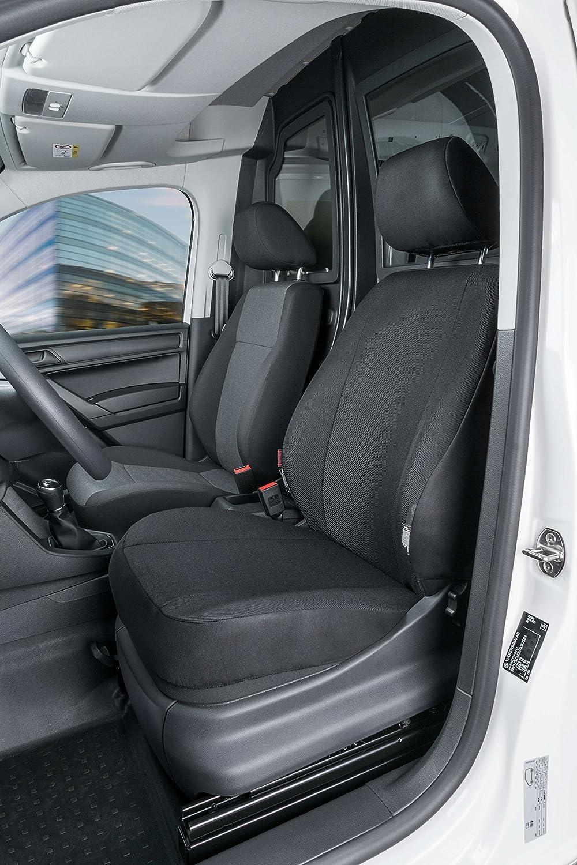 V compatibili con sedili con airbag 2017 - in Poi con Fori per i poggiatesta e bracciolo Laterale Coprisedili Anteriori Caddy Versione