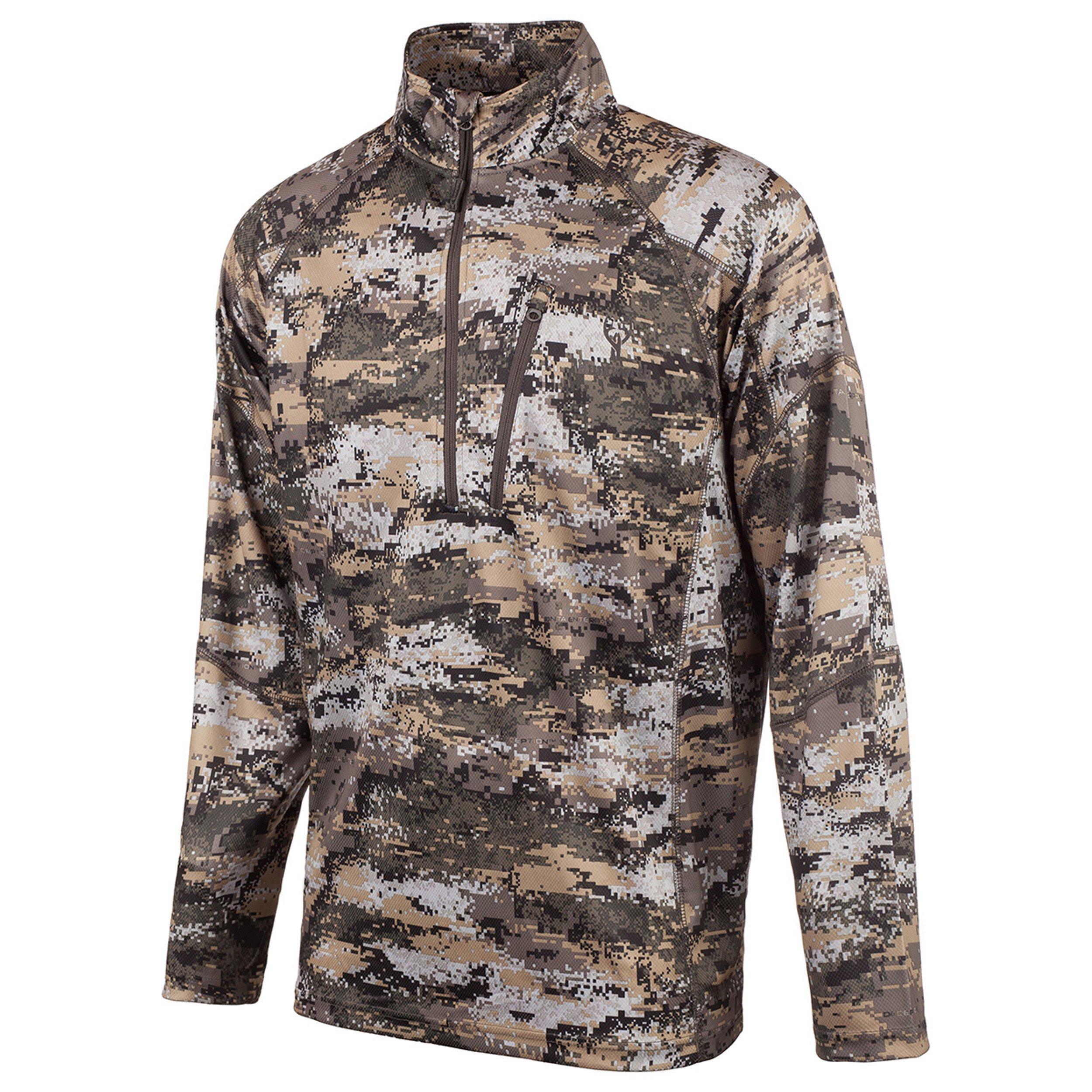 Huntworth Men's Light Weight 1/4 Zip Shirt