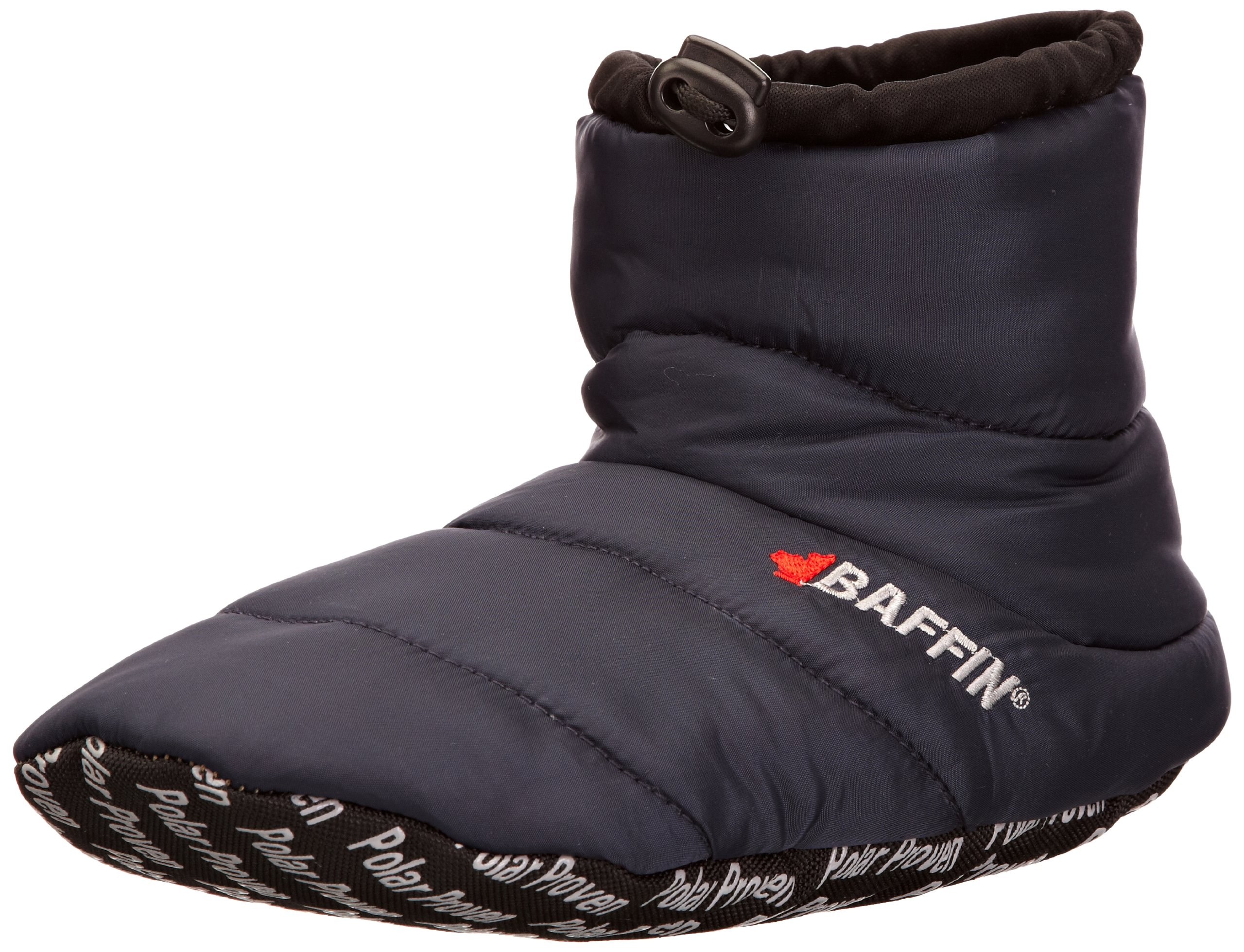 Baffin Unisex Cush Insulated Slipper Booty,Navy,XX-Large (Men's 11-12 M US)