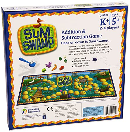 Amazon.com: Sum Swamp Game: Office Products