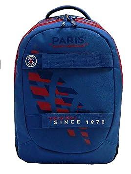 98457acb13 PSG Sac à Dos Scolaire - 2 Compartiments - Collection Officielle Paris  Saint Germain