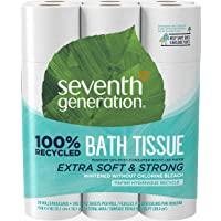 Deals on 2-Pack Seventh Generation White Toilet Paper 24 Count