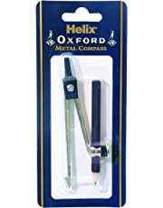 Helix Oxford Metal Compass & Pencil