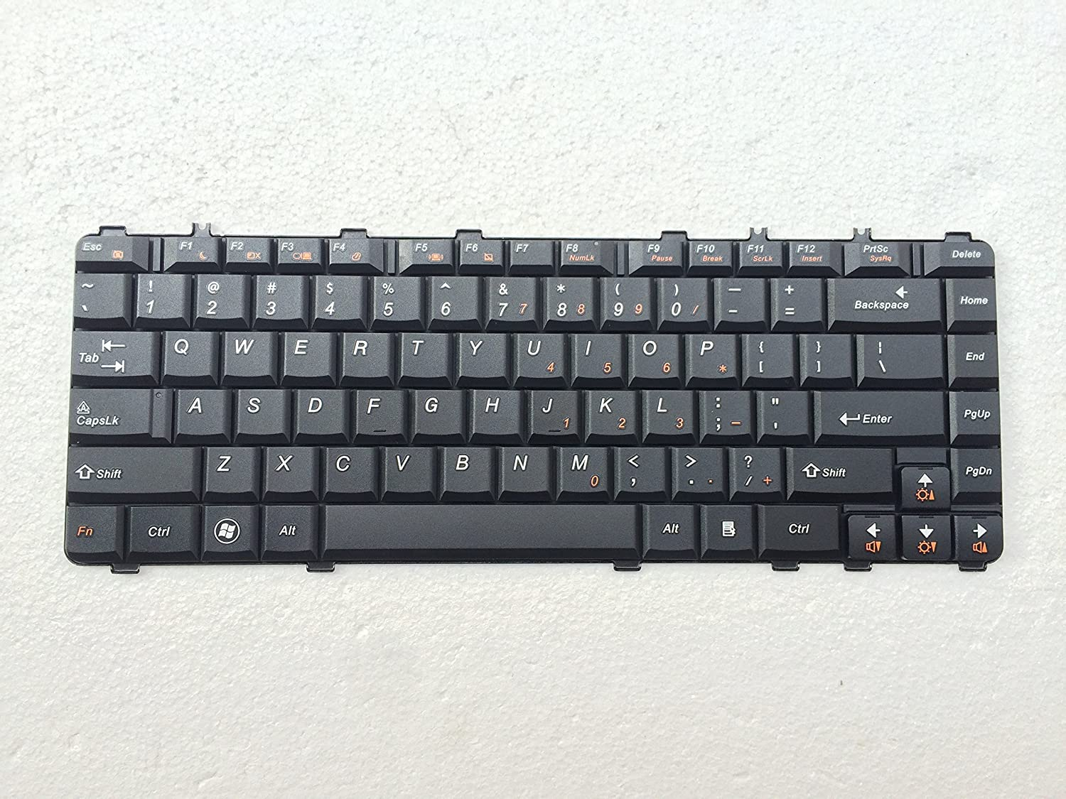 Amazon.com: New laptop replacement keyboard for IBM Lenovo Ideapad Y450AW  Y450 Y450A Y550A Y550P 25-008389 N3S-US N3S84 N3S-US N3SUS Series US Layout  ...