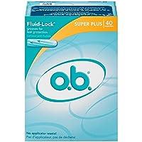 O.B. Digital Tampon, Super Plus, 40 Count (Pack of 3)
