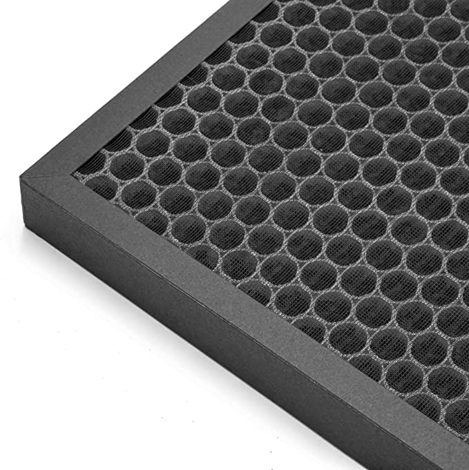 combin/é charbon actif HEPA vhbw filtre compatible avec DeLonghi AC 100 AC 150 humidificateur /épurateur dair