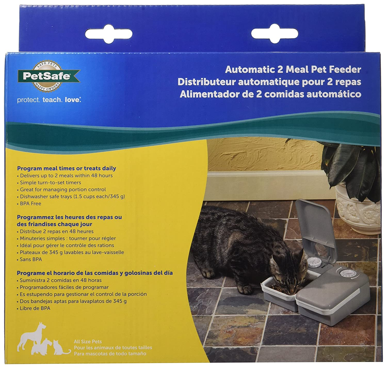 Pet Supplies PetSafe 2 Meal Automatic Dog and Cat Feeder