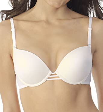 5ff2c8f58 Vassarette Level 3 Back Reveal Push Up Bra (75329) at Amazon Women s ...