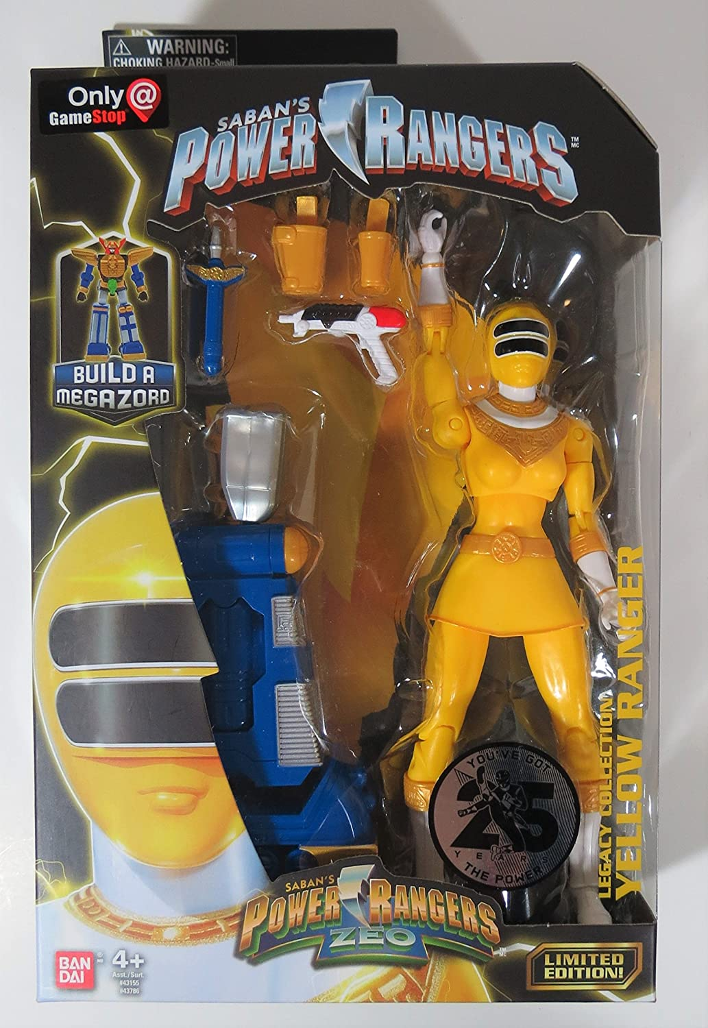 Saban/'s Mighty Morphin Power Rangers Blue Legacy Collection Limited Edition NEW