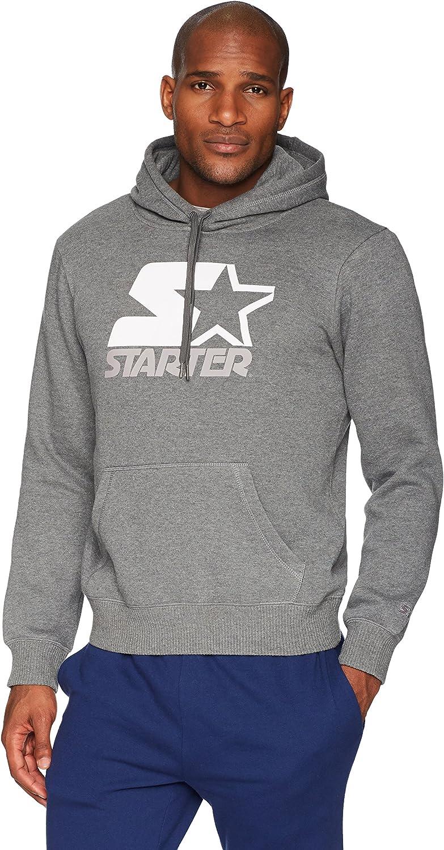 Starter Mens Solid Pullover Hoodie