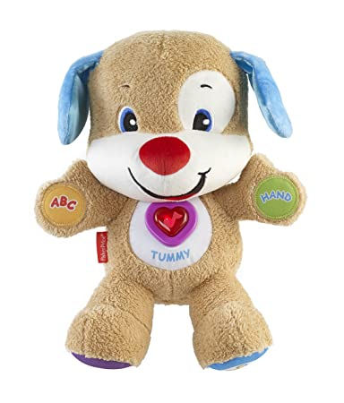 Amazoncom Fisher Price Laugh And Learn Puppy Brown Toys Games