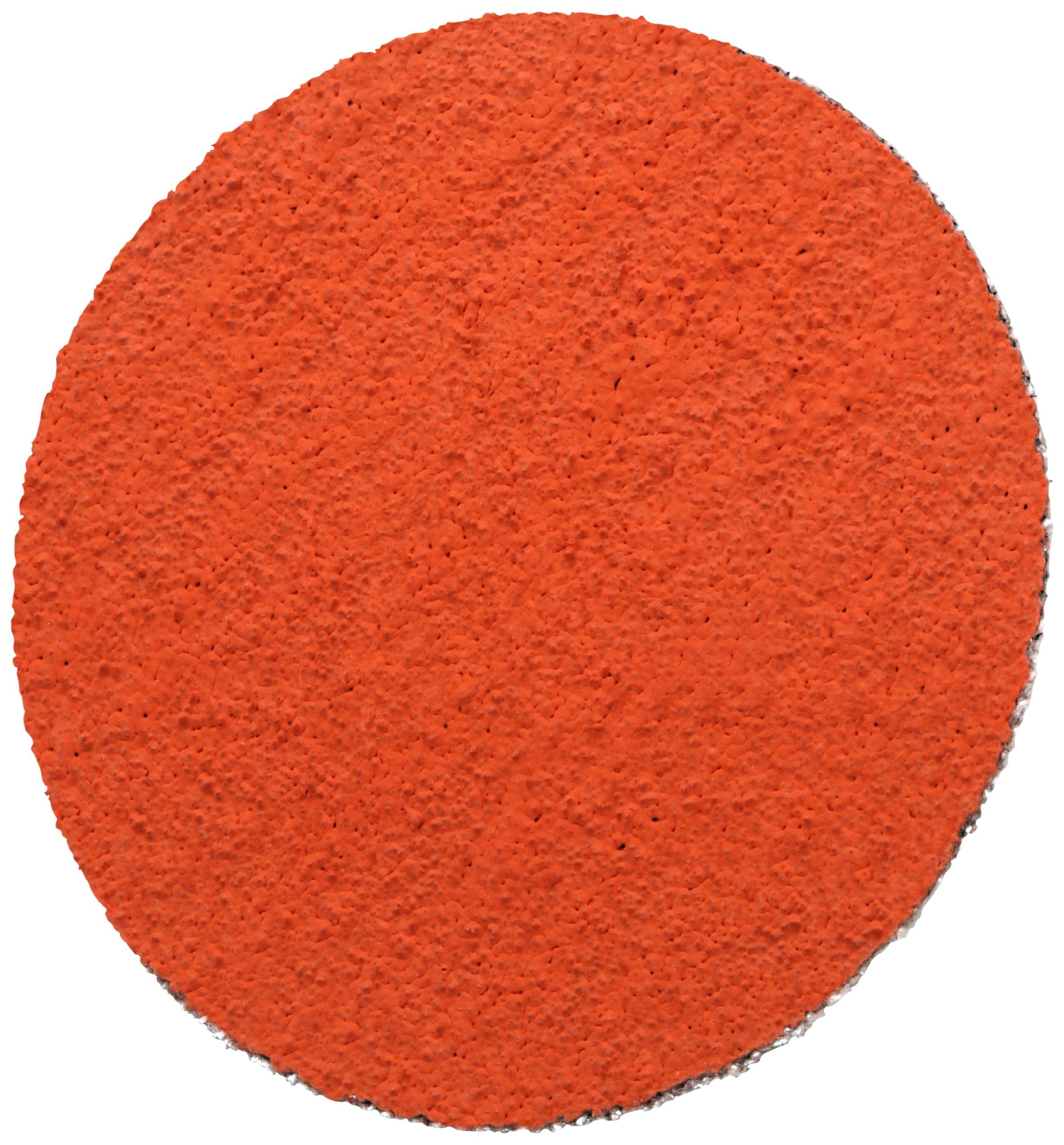 3M(TM) Roloc(TM) Disc TSM 777F, Cloth, TSM Attachment, Ceramic Aluminum Oxide, 2'' Diameter, 60 Grit (Pack of 50)