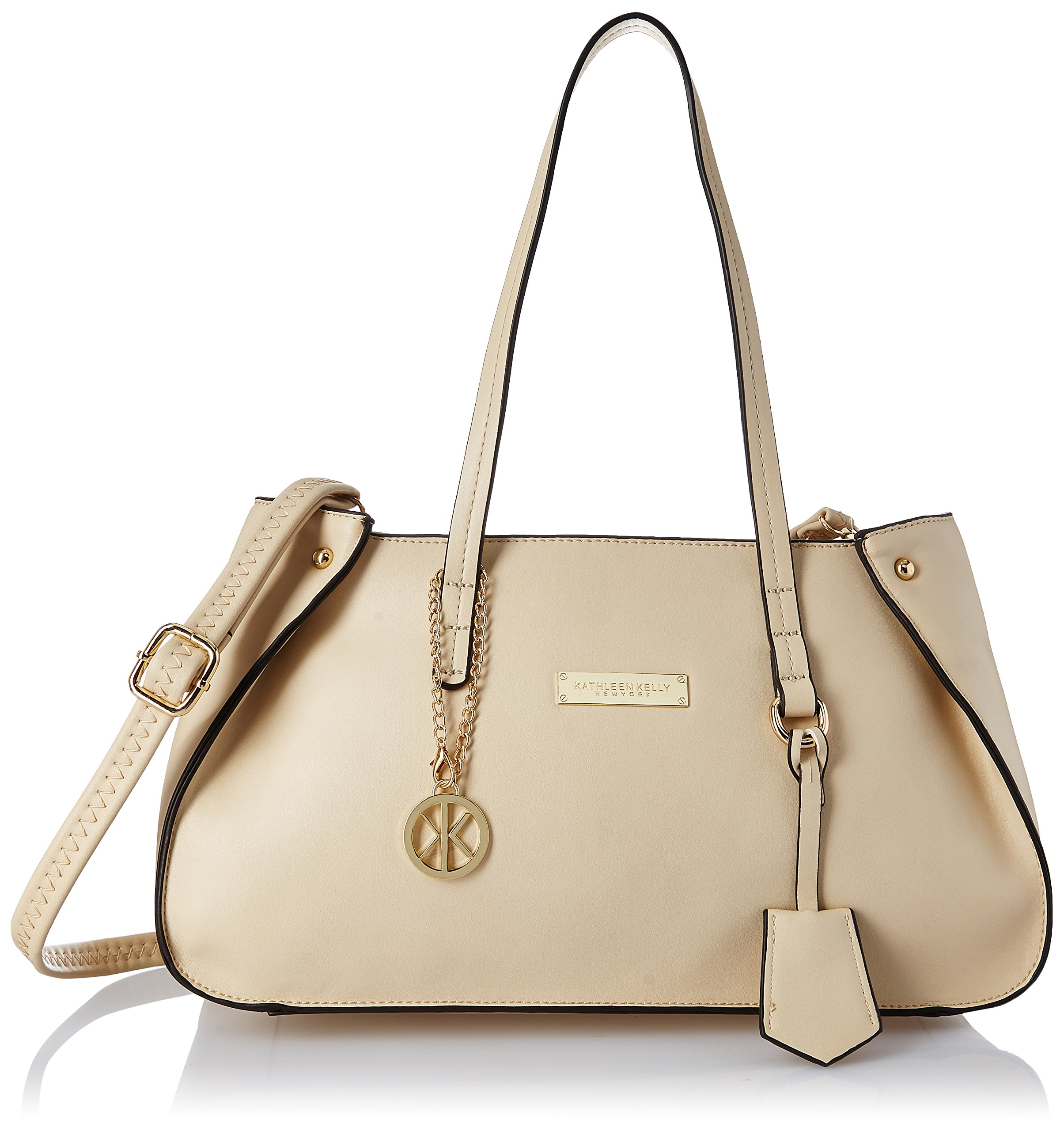 Kathleen Kelly NY Women's Handbag (Linen White) (KK0010LW) product image