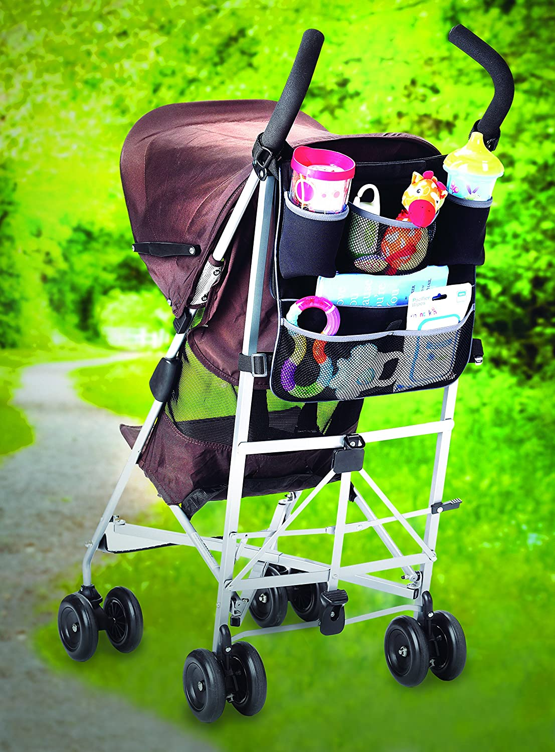 13edd2c26 Munchkin Backseat and Pushchair Organiser: Amazon.co.uk: Baby