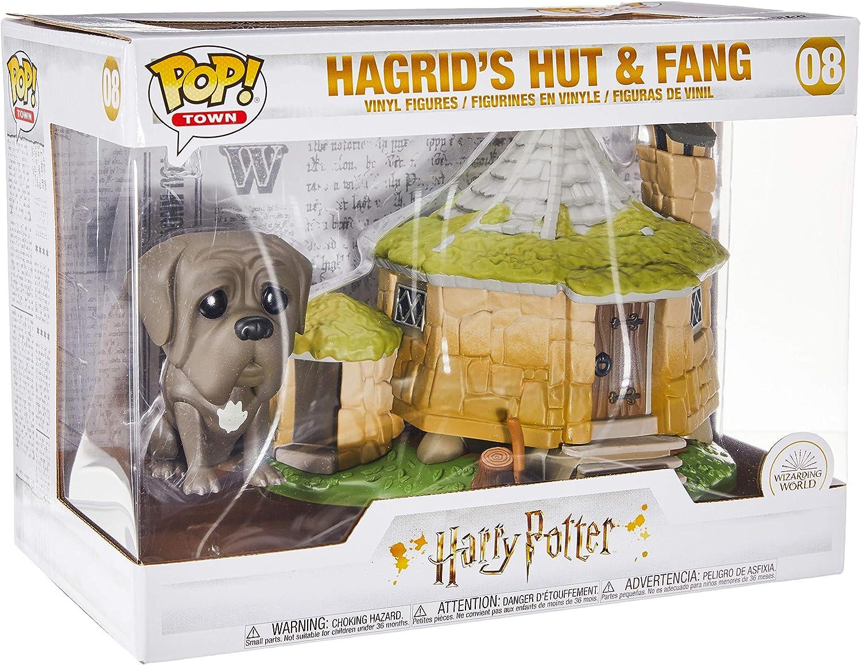 Funko Pop! Town: Harry Potter - Hagrids Hut w/ Fang: Amazon.es ...