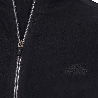 Trespass Mens Tadwick Full Zip Anti Piling Fleece Jacket