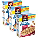 3-Pk. Quaker Oatmeal Squares Breakfast Cereal Variety Pack