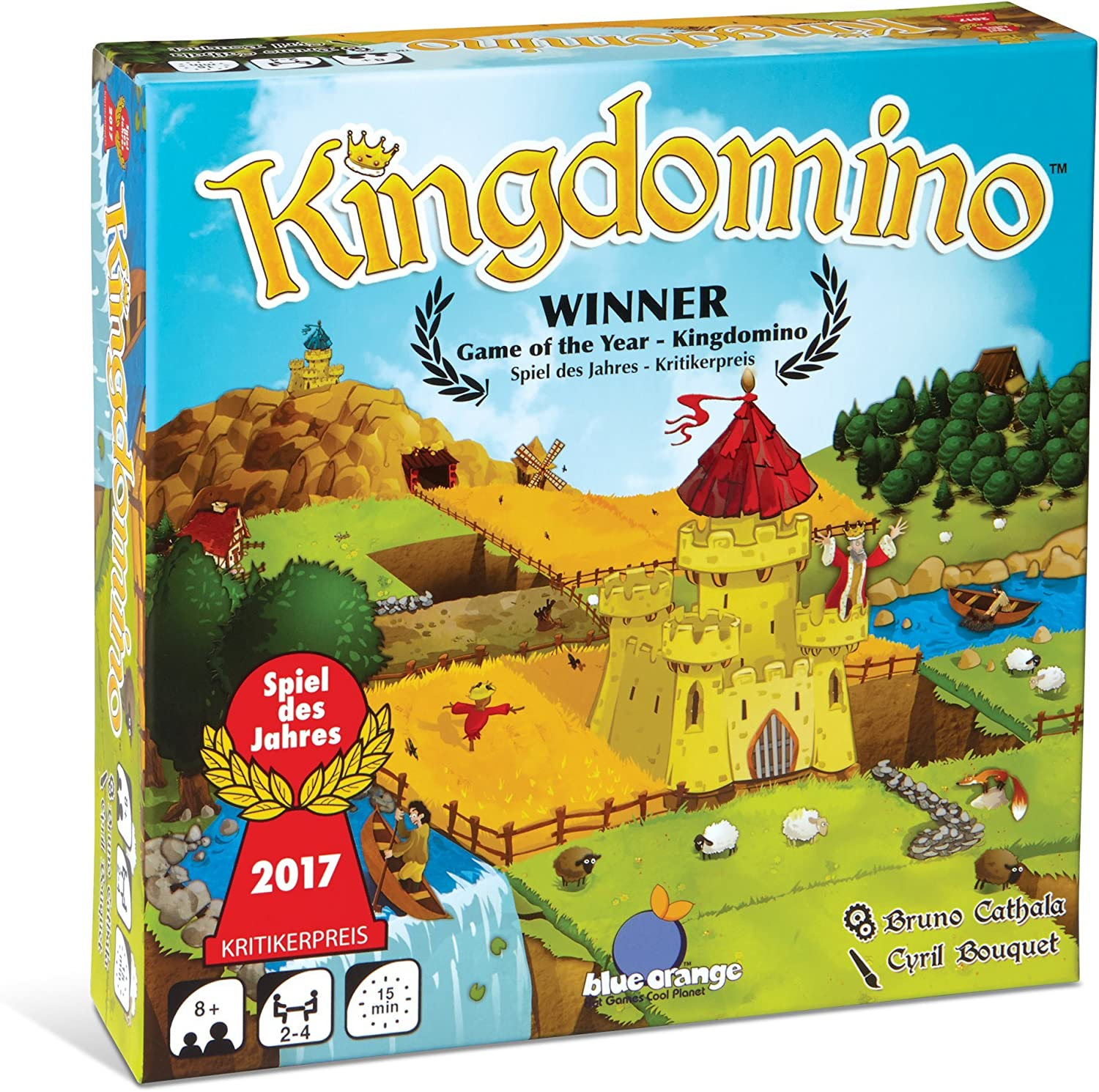 Best Card and board games for 6 year olds featured by top Seattle lifestyle blogger, Marcie in Mommyland: Kingdomino