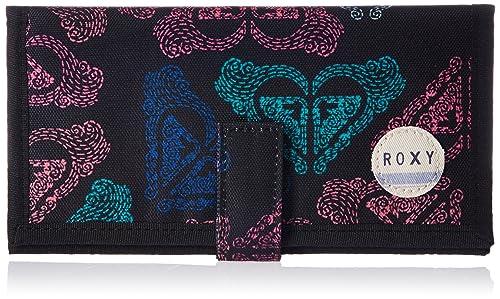 Roxy ERJAA03065 - Billetera Mujer, color Negro, talla Talla ...
