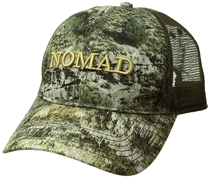 92fe8dd8f Amazon.com: Nomad Camo Trucker Cap, Mossy Oak Mountain Country, One ...
