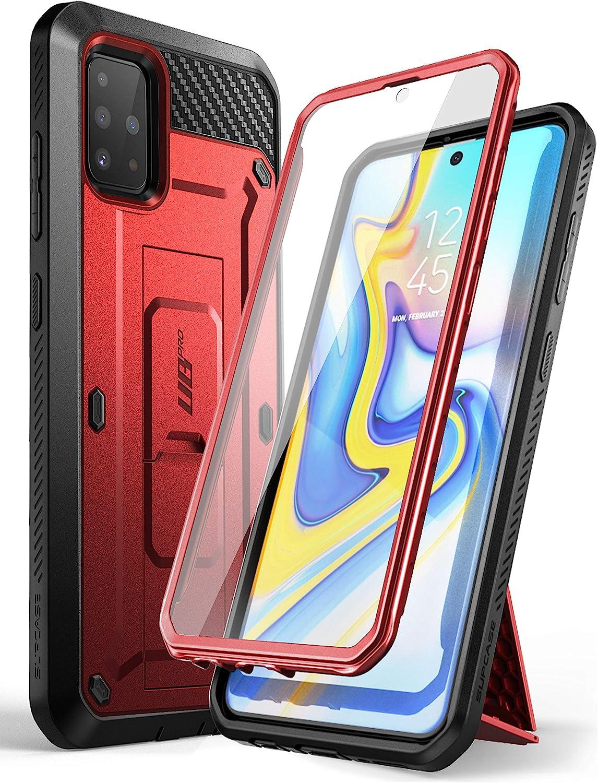 Supcase Outdoor Hülle Für Samsung Galaxy A51 6 5 4g Case 360 Grad Handyhülle Bumper Schutzhülle Cover Unicorn Beetle Pro Mit Displayschutz Rot Elektronik