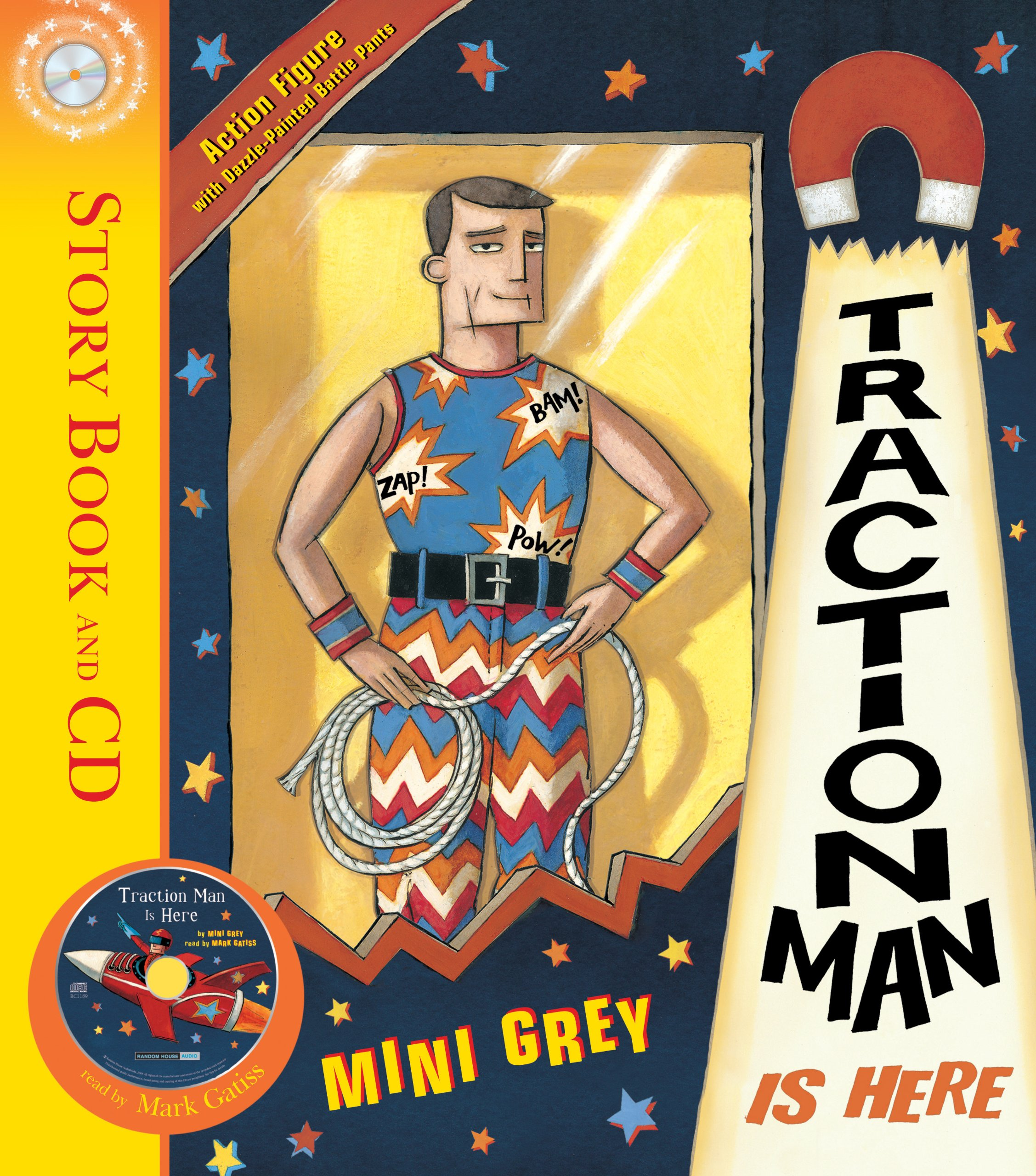Traction Man Is Here: 1: Amazon.co.uk: Grey, Mini: 9781862306400: Books