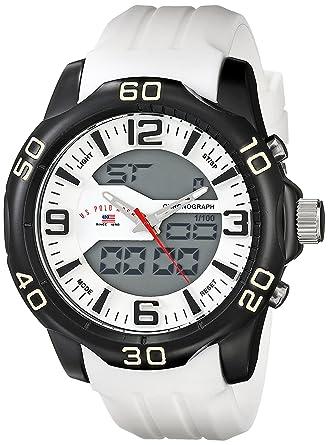 U.S.POLO ASSN. US9475 - Reloj de Pulsera Hombre, Silicona, Color ...