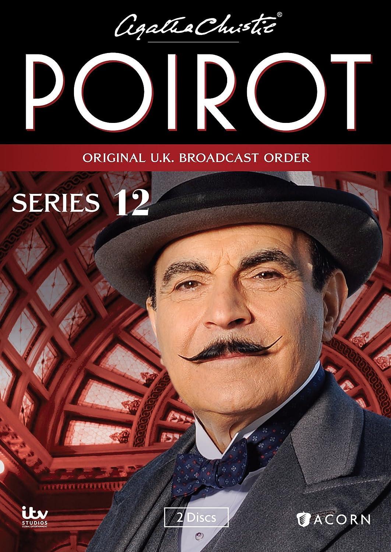 Amazon com agatha christie s poirot series 12 david suchet hugh fraser philip jackson pauline moran movies tv