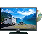 "16"" REFLEXION 12v 12 volt HD LED TV SATELLITE FREEVIEW DVD USB FOR CARAVAN BOAT"