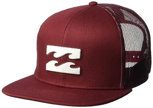 online retailer 8f23b 37629 Billabong Men s All Day Trucker Hat, Brick ONE
