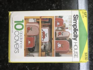 Simplicity 10 Appliance Covers Pattern #127