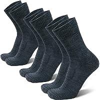 Calcetines Ligeros de Marcha y Senderismo de Lana Merina, para Hombre y Mujer, Térmicos, Transpirables, Acolchados y…