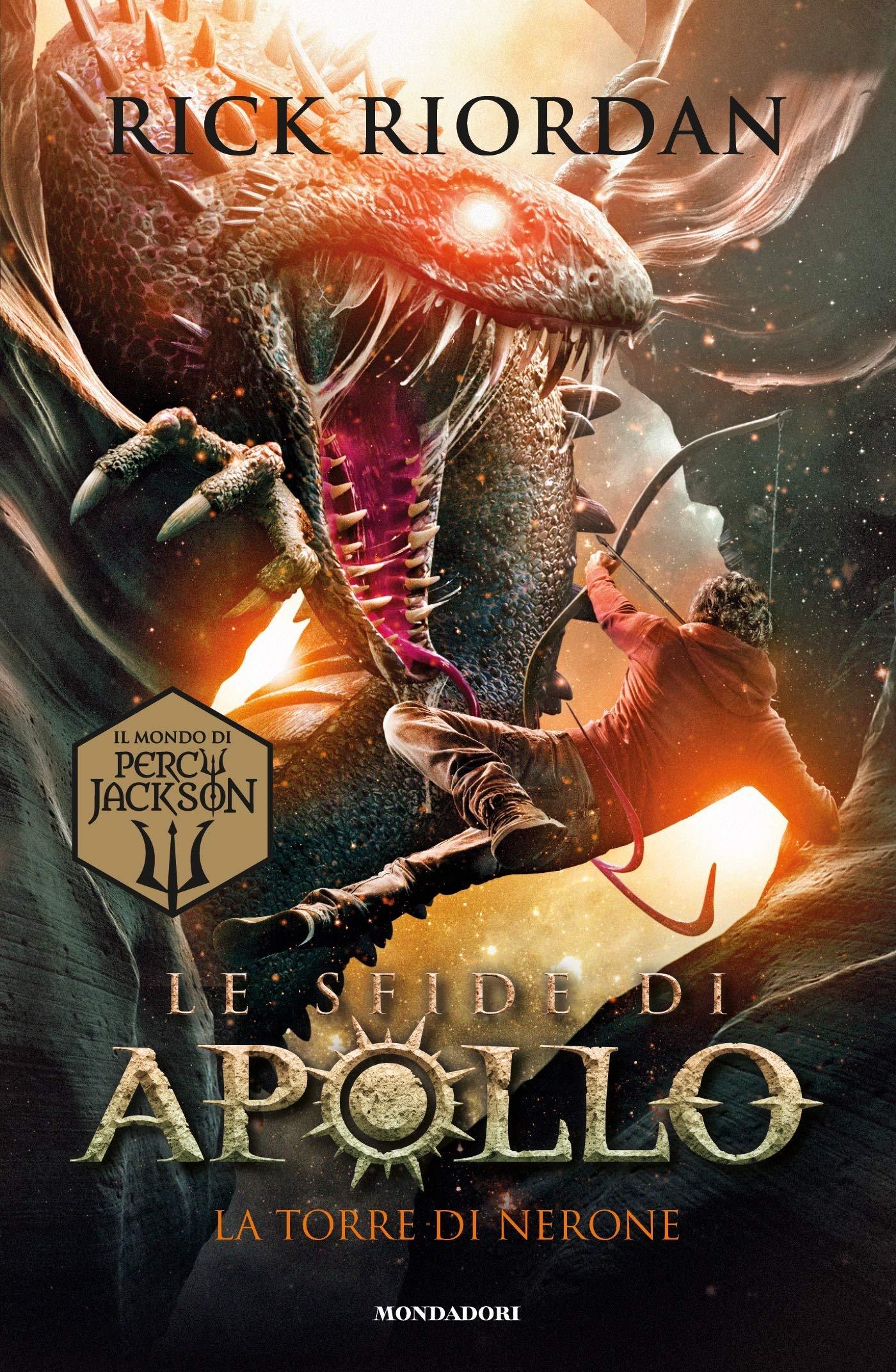 La torre di Nerone. Le sfide di Apollo: 5: Amazon.it: Riordan, Rick,  Baldinucci, L., Melosi, L.: Libri
