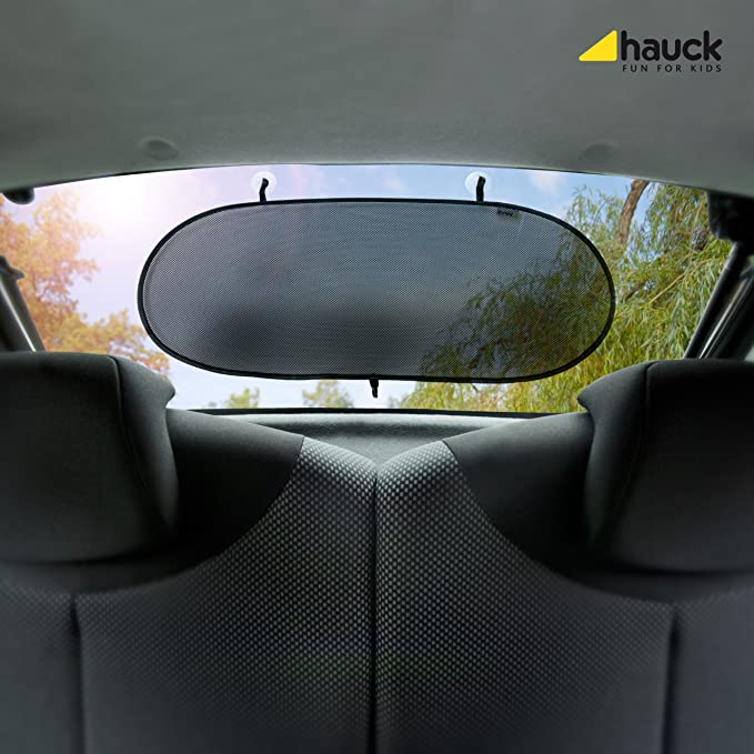 Rear Side Window Sun Shade with Suction Cups Grey Pack of 2 Hauck Cloud Me 2 Car Window Shades