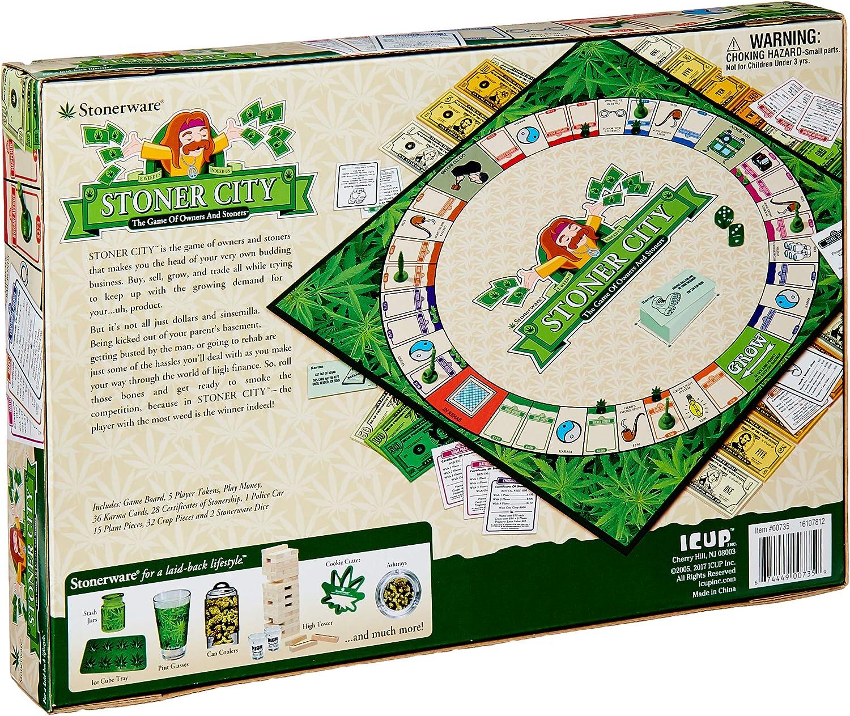 Stoner City Board Game by ICUP: Amazon.es: Juguetes y juegos