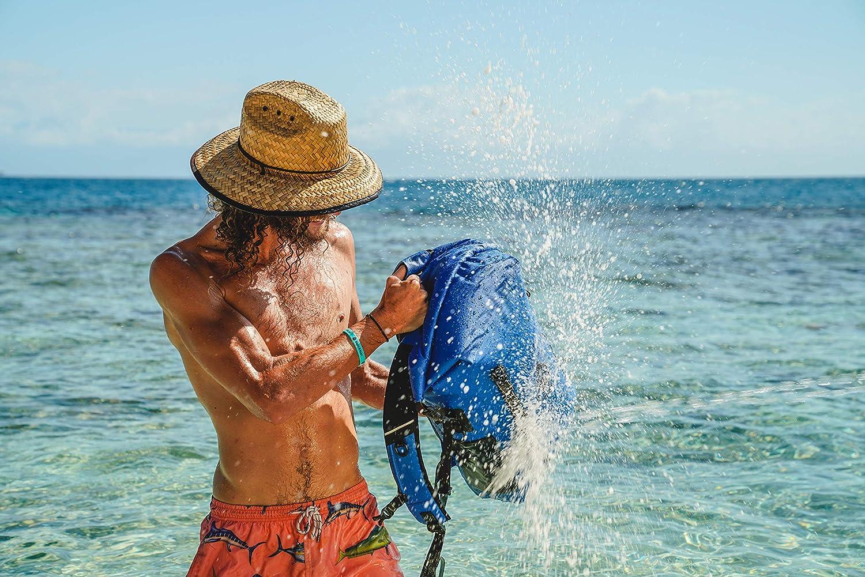 for Kayaking Boating Beach Skog /Å Kust BackS/åk Pro Waterproof Floating Backpacks with Exterior Airtight Zippered Pocket Swimming Camping Rafting Hiking Fishing