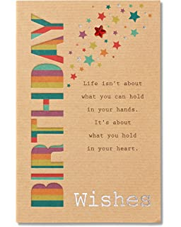 American Greetings Birthday Wishes Card With Foil