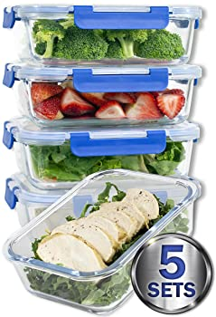Misc Home Glass Meal Prep Containers