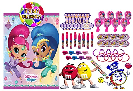 Amazon Shimmer And Shine Inspired 8 Pre Filled Toy Candy
