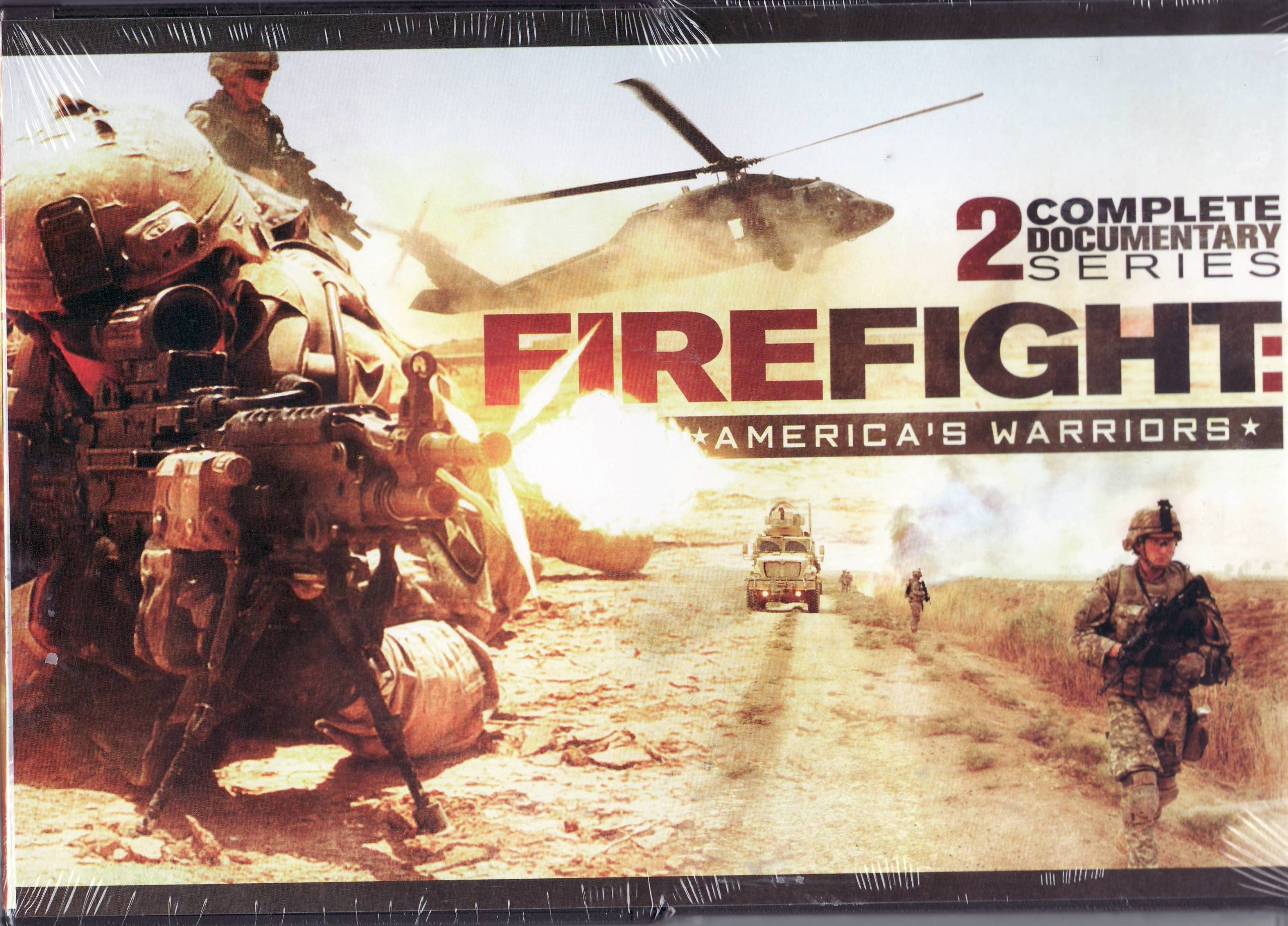 Firefight - America's Warriors - 2 Complete Documentary Series