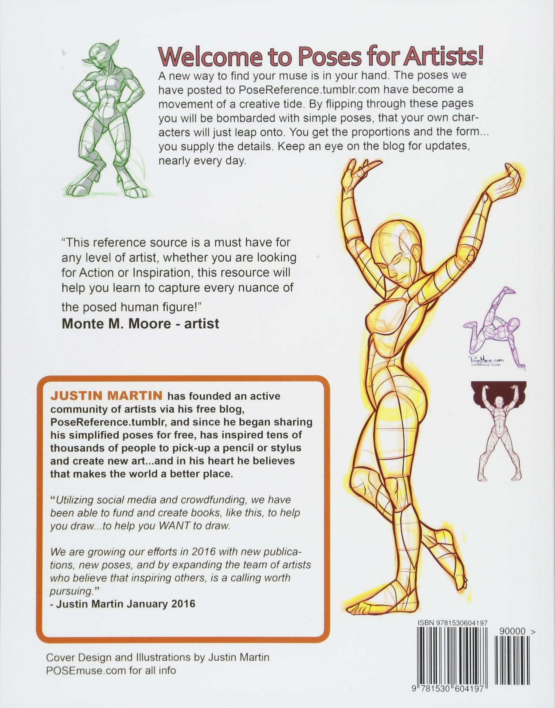Poses For Artists Volume 3 Fighting And Various Poses An