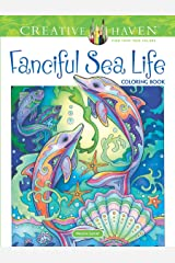 Creative Haven Fanciful Sea Life Coloring Book (Adult Coloring) Paperback
