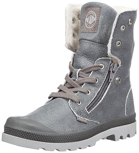 32198c3e84faac Palladium Baggy Leather S Unisex-Kinder Wanderstiefel  Amazon.de ...