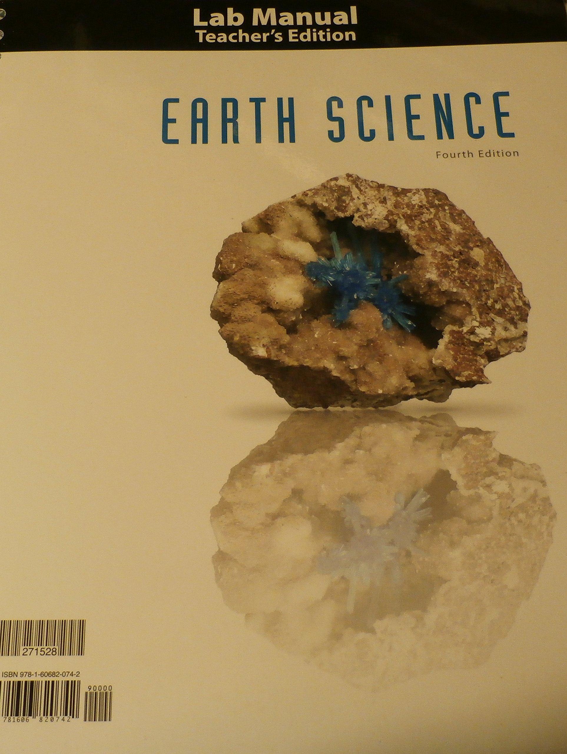 earth science 4th edition teacher edition lab manual bob jones rh amazon com earth science lab manual fourth edition Earth Science Week