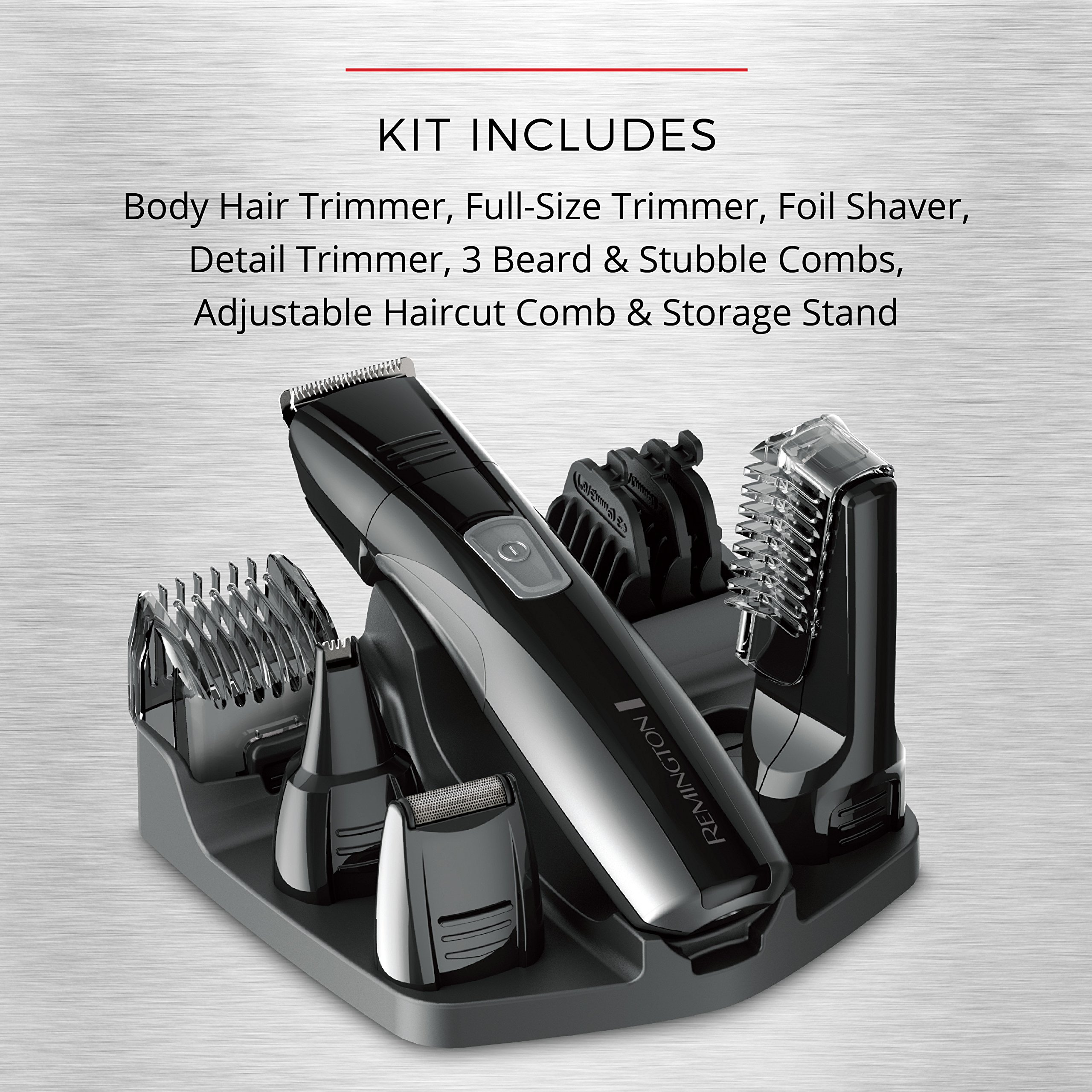 Remington PG525 Head to Toe Lithium Powered Body Groomer Kit, Trimmer (10 Pieces) by Remington (Image #8)