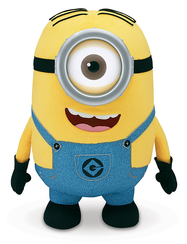 amazoncom despicable me jumbo stuart plush 16 inches tall toys games - Minions