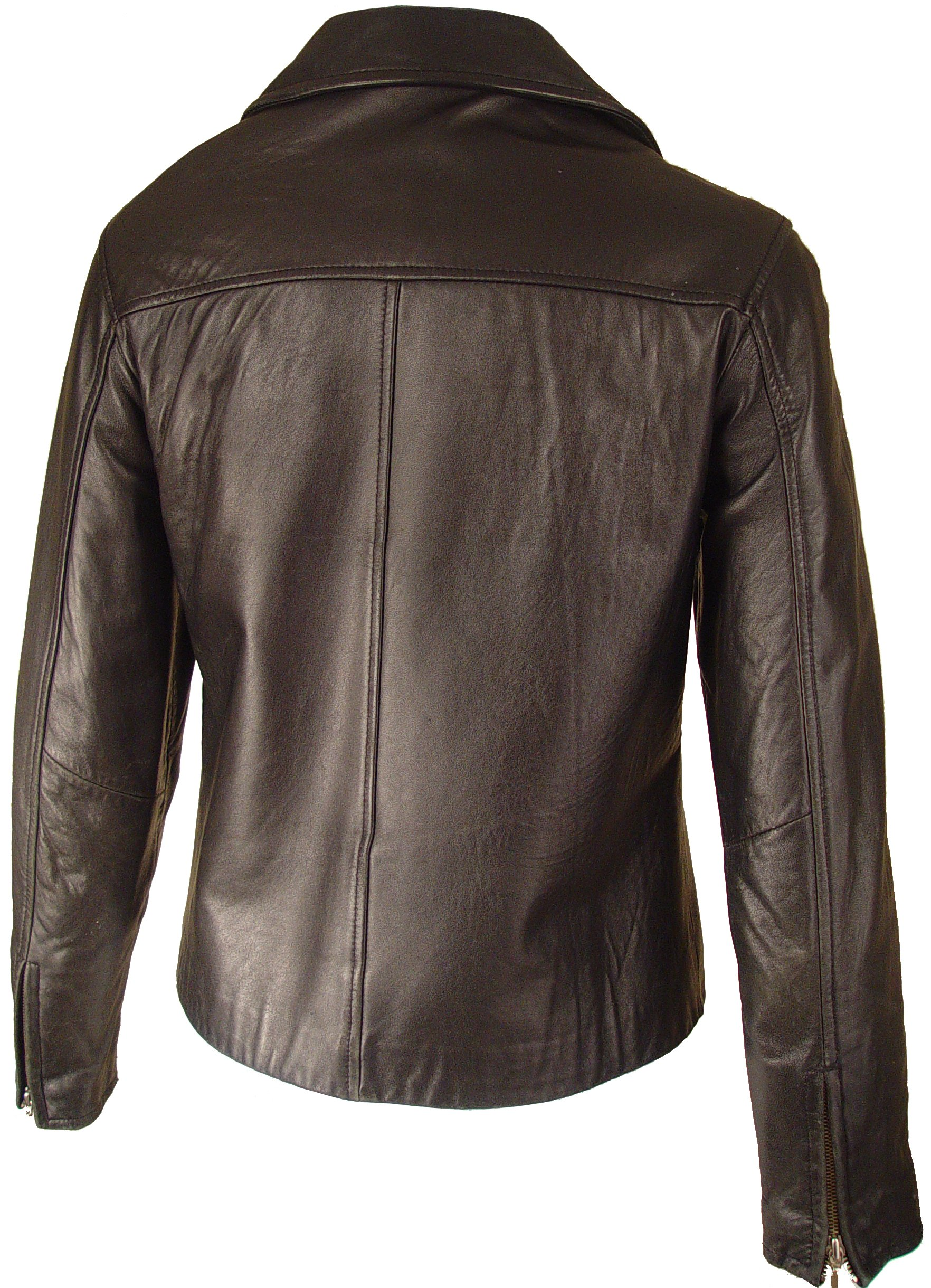 Paccilo Women 4016 PETITE & ALL SIZELamb Scuba Leather Jacket by Paccilo (Image #3)
